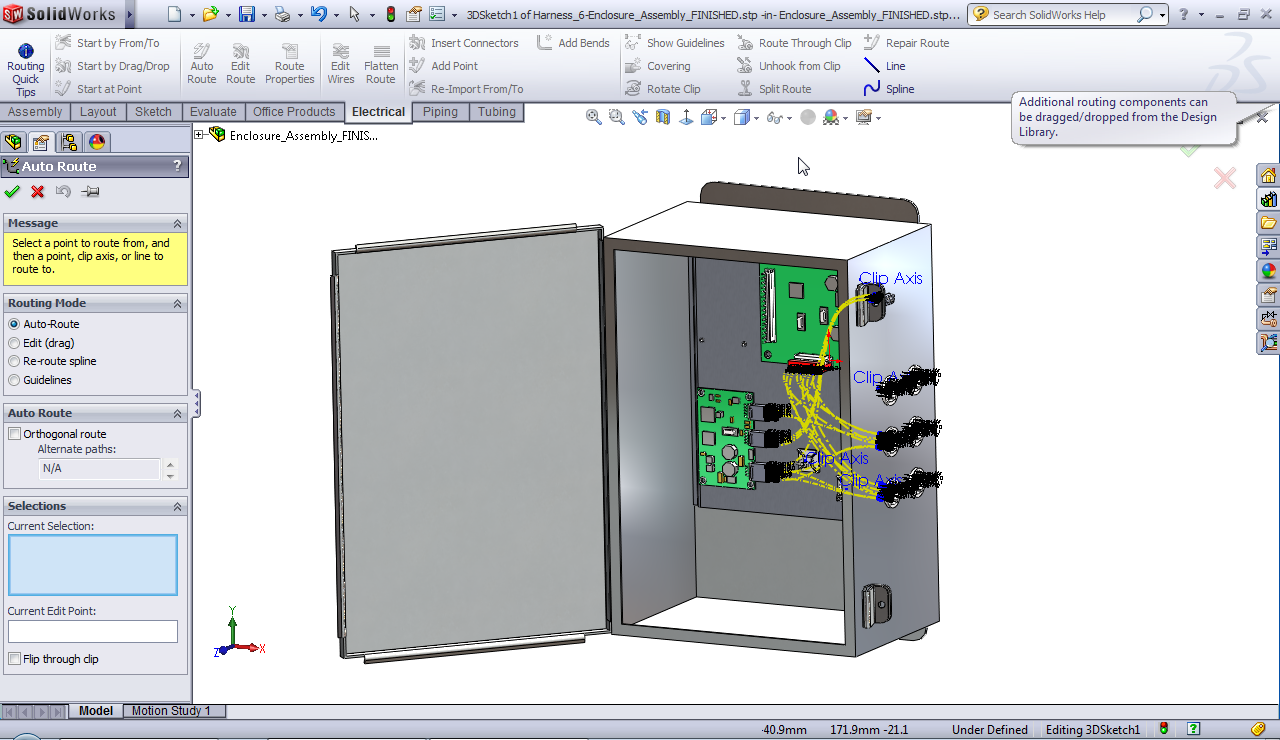 Autodesk Inventor on electrical wiring diagram